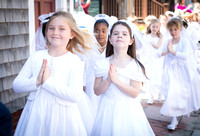 First Communion 2014 morning